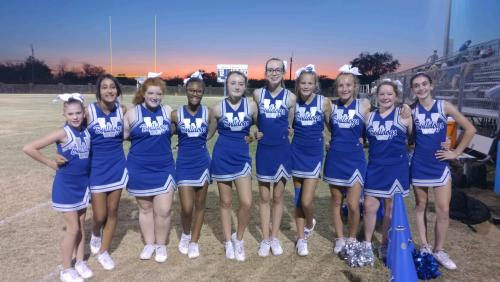 WJH Cheer Squad 2019