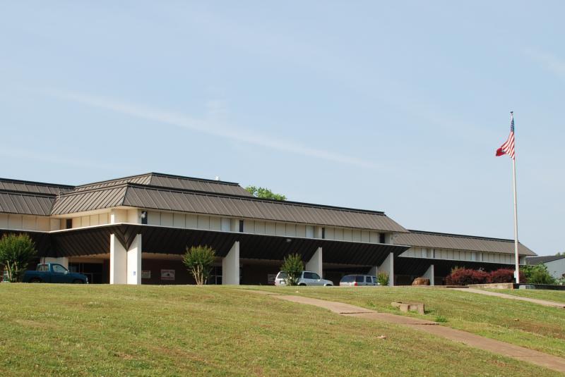 Landscape View facing Magnet Cove High School