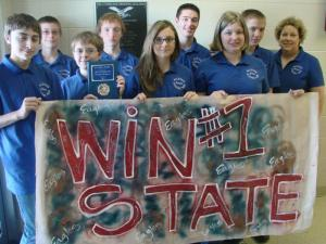 2012 State Runner Up Team
