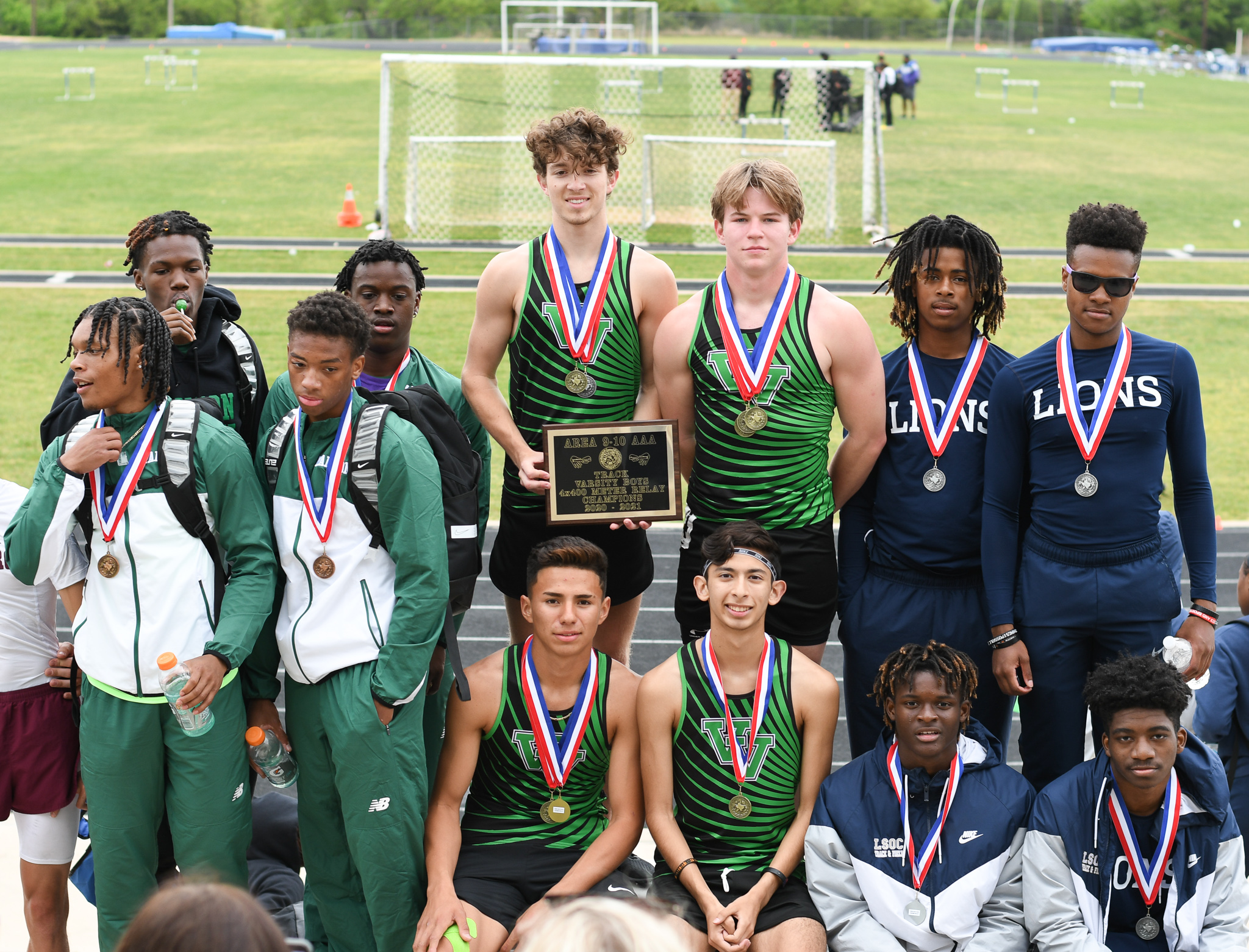 track team at area