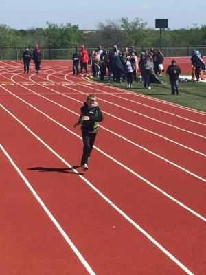 Student competes at GVL