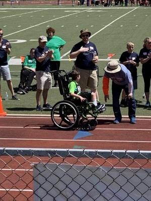 Student competes at State Meet