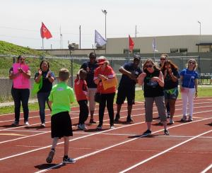 Student competes at State