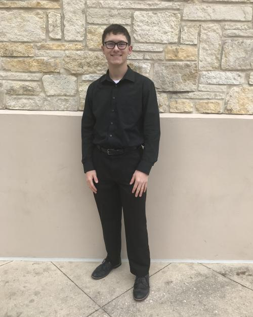 Issac Roe at All State Band
