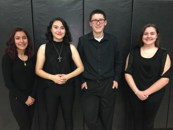All Region Band Students 2019