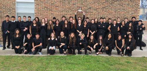 high school band UIL division 1