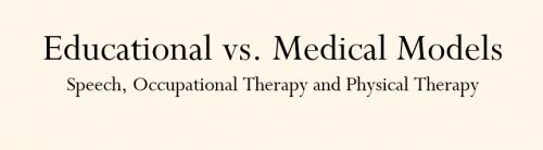 educational vs medical