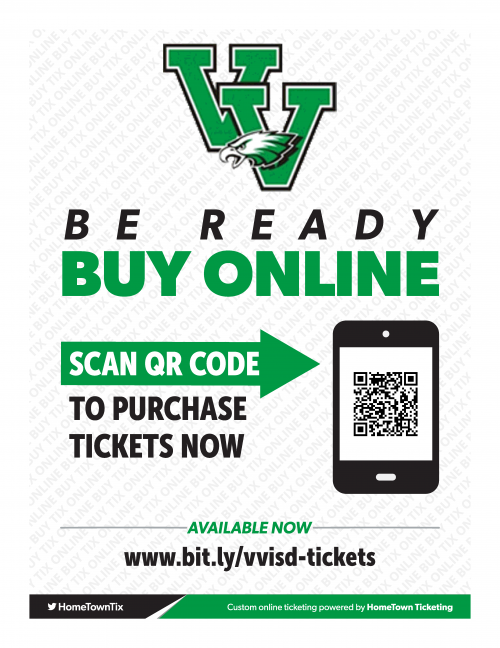 QR image to purchase tickets for events at valley view