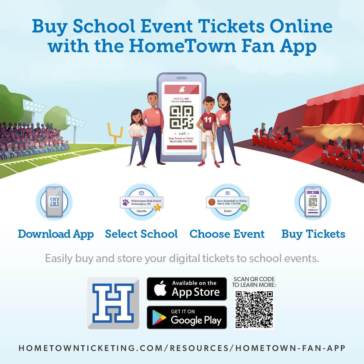 hometown ticketing app