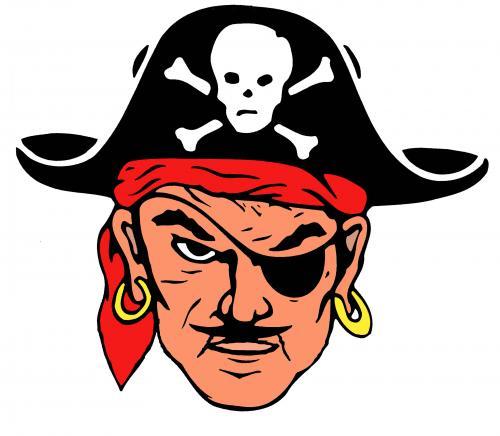 Dover Pirate Logo