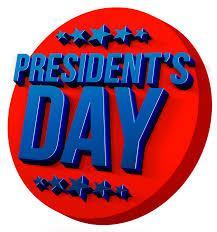 School Open President's Day 2018