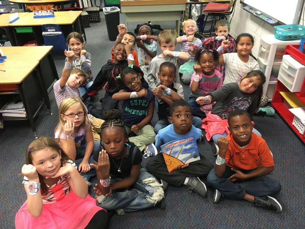 Mrs. Creel's class learned how everyday people can be heroes and leaders.