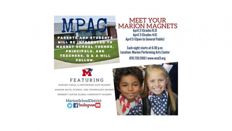 Meet Our Magnets Flyer