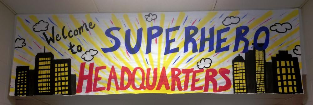 Welcome to Super Hero Headquarters!