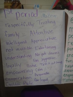 Mrs. Brown's Classroom Social Contract