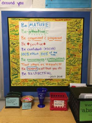 Mrs. Cook's Classroom Social Contract