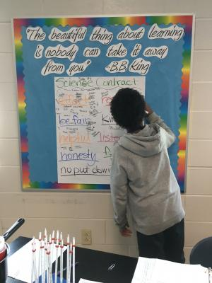 Ms. Gunn's Classroom Social Contract