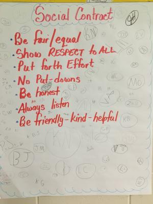 Mrs. Hosman's Classroom Social Contract
