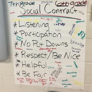 Mrs. Langley's Classroom Social Contract