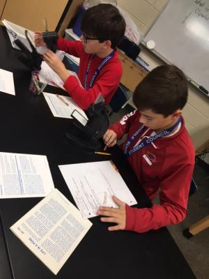 Using micro- viewers to observe cells