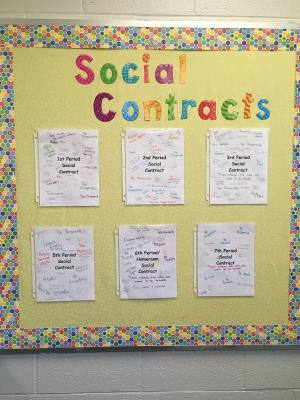 Dr. Vickers-Ball's Classroom Social Contract