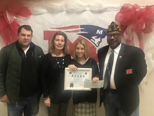 Deese wins scholarship