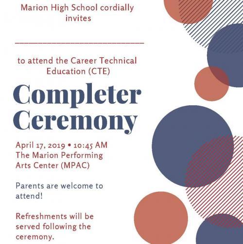 Completer Invitation