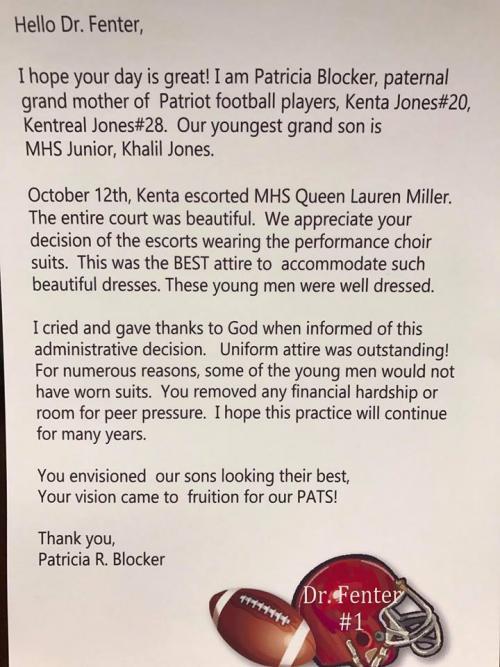 Fenter Letter