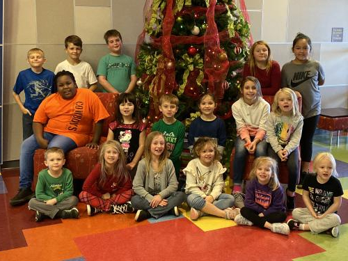 AES DECEMBER STUDENTS OF THE MONTH