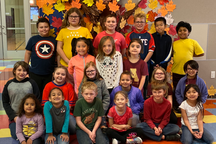 AES NOVEMBER STUDENTS OF THE MONTH