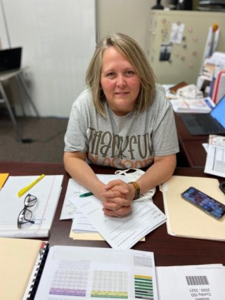 Donna George, High School Principal, has been in education for over 30 years and has also served in several roles.  She believes that we should offer as many opportunities to students to ensure their success, not only at school but in life.