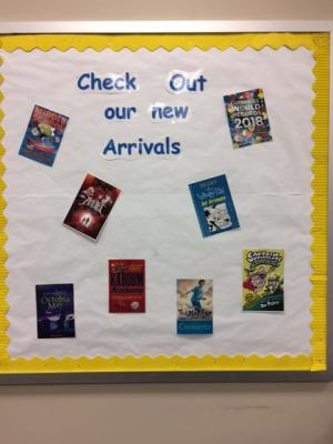March:  New arrivals in Library