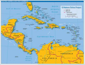 Central America and the Carribbean Islands