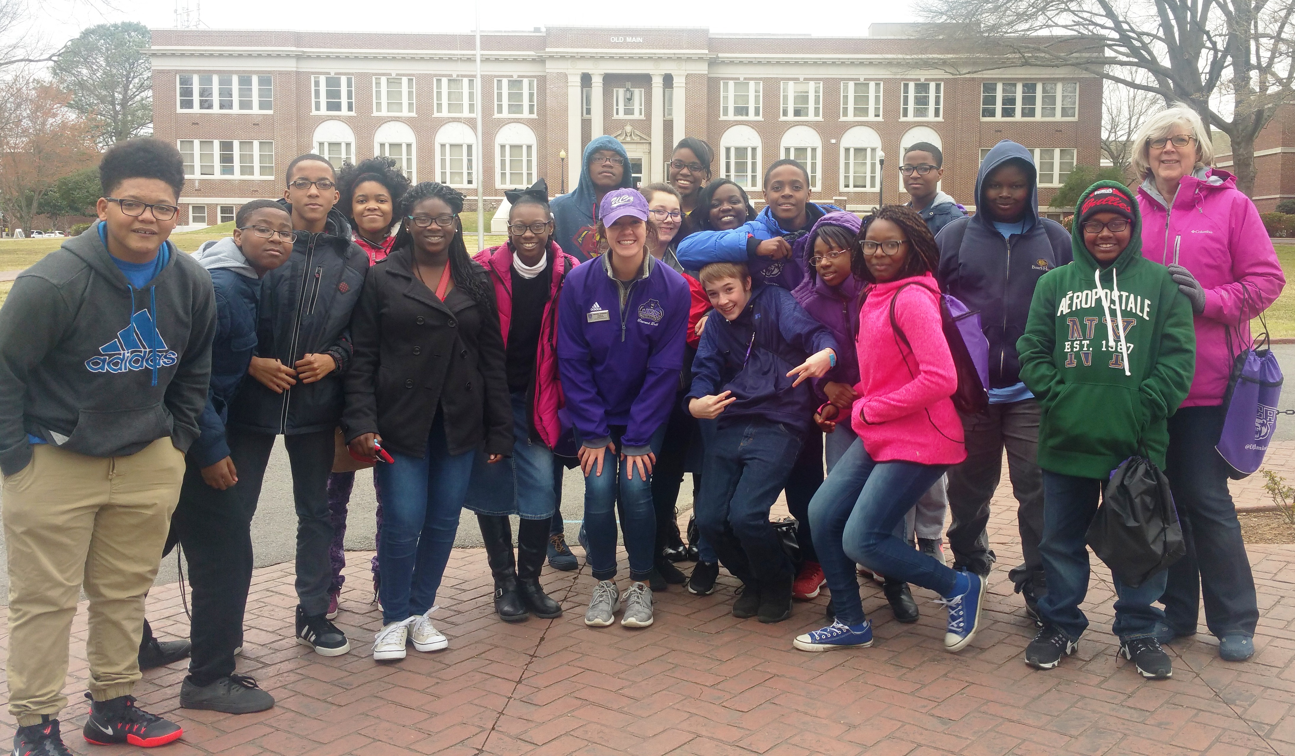 FC Junior High Students visit UCA
