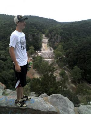 Morre at Turner Falls