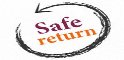 safe return clipart