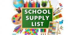 2020-2021 MIDDLE SCHOOL SUPPLY LIST