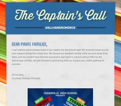Introducing: The Captain's Call!