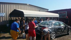 Car wash fund raiser at Cooley's!