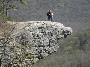 Jerry and I at Hawksbill Crag!