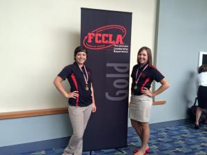 Gold Medal Winners at FCCLA NLC 2015