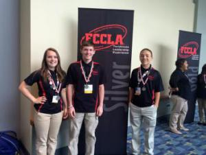 Silver Medal Winners at FCCLA NLC 2015