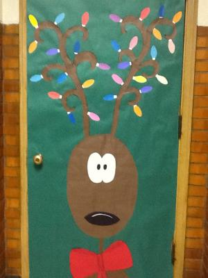December Door Bulletin Board