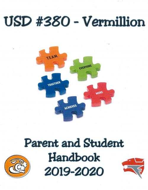 2019-20 Parent and Student Handbook Cover