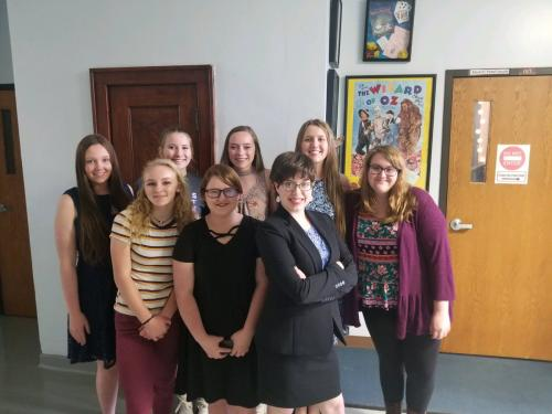 TVL Forensics did great! They brought home 6 medals!   IDA- 5th Place-Lydia Loiseau and Maggie Armstrong, 6th- Megin and Magi Jacques. Serious Solo 3rd- Catherine Kee, 5th- Clara Dressman. Duet 3rd place- Catherine Kee and Megin Jacques. Original Oration 6th place- Aimyee Brucken
