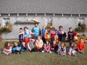 Kindergarten - October 2015
