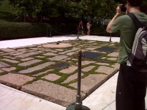 Arlington Cemetery John F. Kennedy Memorial