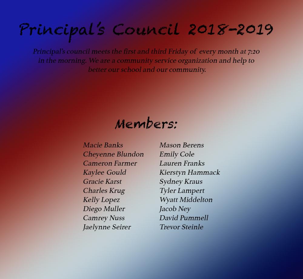 Principals council
