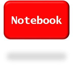Red Notebook Button