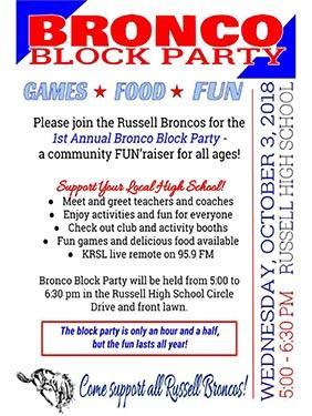 RHS Block Party